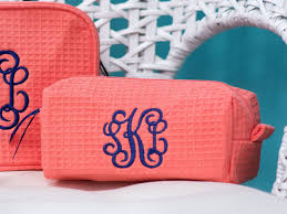 glamorous small size monogrammed cosmetic bag personalized makeup bags patterns il fullxfull full size