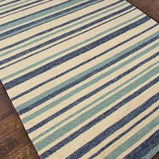amazing navy stripe outdoor rug aqua striped rug roselawnlutheran