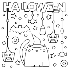 Click on any halloween picture above to start coloring. Halloween Coloring Pages 10 Free Spooky Printable Activities For Kids Printables 30seconds Mom