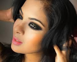 how to do smokey eye makeup on brown skin