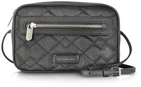 Marc by Marc Jacobs Sally Quilted Saffiano Leather Crossbody Bag ... & ... Black Quilted Leather Crossbody Bags Marc by Marc Jacobs Sally Quilted  Saffiano Leather Crossbody Bag ... Adamdwight.com