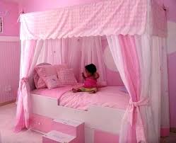 Girls Bed Tent Child Twin Canopy Kids Canopies Love R For Girl ...
