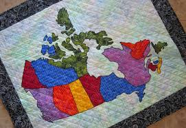 PDF Pattern Canada Patchwork Map Quilt Pattern from Quilts by & PDF Pattern Canada Patchwork Map Quilt Pattern from Quilts by Elena Full  Sized Templates and Clear Instructions Adamdwight.com