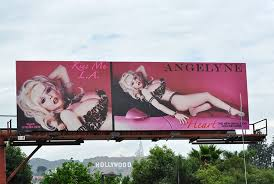Image result for angelyne billboard on sunset