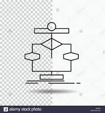 Flow Line Chart Diagram Meanings Powerpoint Flowchart Jump