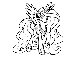 best of my little pony coloring pages princess luna filly design amazing