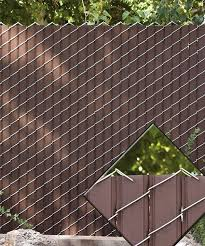 Brilliant Chain Link Fence Slats H With Decorating Ideas