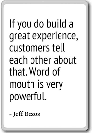 Amazon Com If You Do Build A Great Experience Customers Te