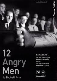 angry men theatrefusion written by reginald rose 12 angry men flyer
