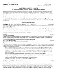 Sample Resume With Sabbatical Environmental Science Resume Sample Httpwwwresumecareer 8
