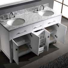 virtu usa ine 60 bathroom vanity cabinet in white