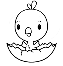 31 Chick Coloring Pages Chick Hatching Coloring Page Download Free