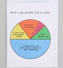 Pie Chart Birthday Card Birthday Cards For Friends Best