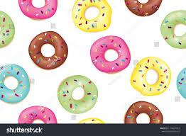 Donut Pattern Simple Decorating Ideas