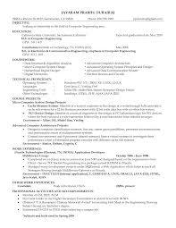 Hardware Engineer Sample Resume Computer Hardware Engineer Resume Format Yun24 Co Example 1