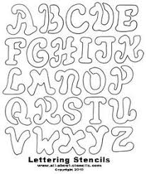 c1defca5d2daab69fb21c4797f4b7130 printable letter stencils letters of alphabet