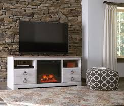ashley furniture fireplace tv stand. Fine Stand Ashley W267 Willowton LG TV Stand W Fireplace For Furniture Tv 1