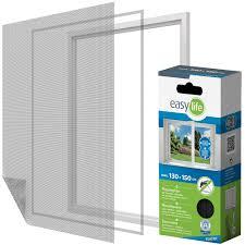 Elastic Insektenschutzgitter Für Fenster Inkl Klettband 130 X 150
