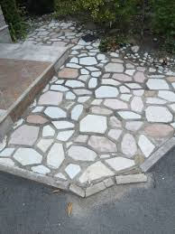 flagstone patio joint repair the