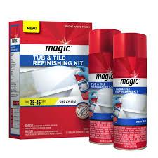 magic oz tub and tile spray refinishing kit the home depot for acrylic bathtub bath repair wickes awesome your house desig