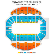 Crown Center Of Cumberland County Seating Chart Huntsville Havoc At Fayetteville Marksmen Tickets 12 14