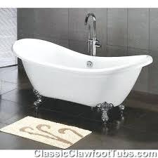 60 inch clawfoot tub acrylic double ended slipper tub classic inside prepare 60 inch slipper clawfoot 60 inch clawfoot tub