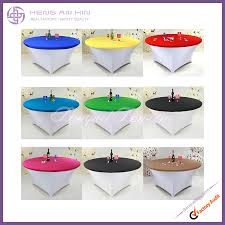 round table topper sp1 plain spandex round