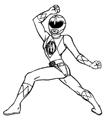 Power Rangers Printables Coloring Pages At Getdrawingscom Free