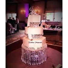 chandelier vase wedding crystal cake stand 3 tier crystal cake the vase cake stand and 2
