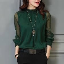 3XL <b>Female Spring Summer Lace</b> Chiffon Shirt Plus Size Blouse ...