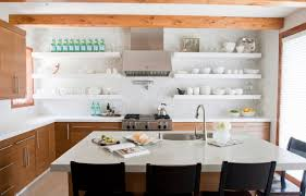 Open Shelving In Kitchen Modern Open Shelving Kitchen Ideas House Decor