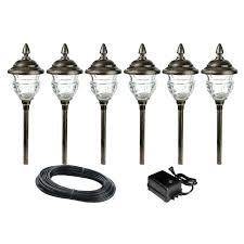 led pathway landscape lighting low voltage led outdoor lighting crafts home low voltage outdoor lighting sets