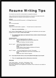 Example Of Best Resume Format Examples Of Resumes