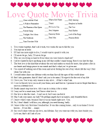 Movie Quote Trivia Extraordinary Valentine's Jubilee Movie Quote Trivia The BYUIdaho Support Center