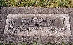 Effie Duncan (1879-1971) - Find A Grave Memorial