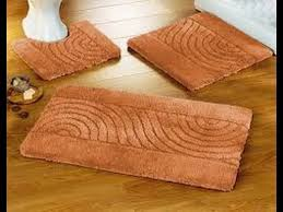 orange bath rug set contemporary bathroom creative rugs ideas with nice style interesting inside 6