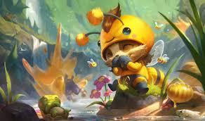beemo splash art 4k hd wallpaper background official art artwork league of legends lol