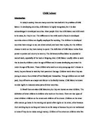 child labour essay marconi union official website child labour essay