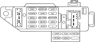 1990 ford escort fuse box diagram example electrical wiring diagram \u2022 1996 Ford Contour Fuse Box Diagram at 1995 Ford Escort Lx Fuse Box Diagram