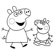 Top 15 Free Printable Peppa Pig Coloring Pages Online
