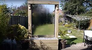 how to build a glass waterfall for your