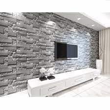 Brick Wallpaper Textured Waterproof ...