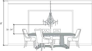 height of chandelier over dining room table dining room chandelier height chandelier over dining table height