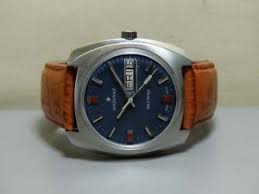 vintage radiant blumar automatic day date mens watch e759 old used image is loading vintage radiant blumar automatic day date mens watch