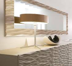 large wall mirror wood frame - Increase Your House Design Values With Use Large  Wall Mirror  OakSenHam.com ~ Inspiration Home Design and Decor