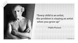 Famous Artist Quotes Mesmerizing Every Child Is An Artist Famous Quote QUOTEZ○CO