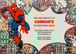 Spiderman Birthday Invitation Templates Free Wonderful Superhero Invitation Template Free Ideas Printable