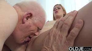 Old Man Licking Young Pussy