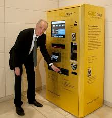 Gold To Go Vending Machine Magnificent A Hopeless Investment' Pawnbroker Offers £48 Sliver Of Gold From