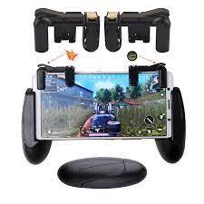 Akıllı cep telefonu oyun Gamepad kolu kavrama bıçaklar out/kuralları  hayatta kalma/PUBG mobil oyun yangın düğmesi L/R oyun tetik|Gamepads